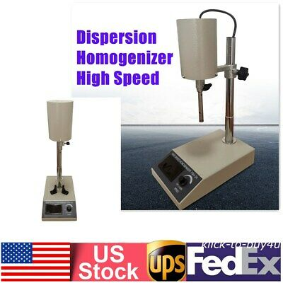 110v Lab High-speed Homogenizer Emulsifier Shear Mixer Stainless Steel Hotsale
