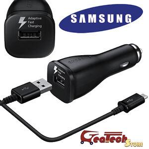 Caricabatteria-da-Auto-Rapido-ORIGINALE-SAMSUNG-Fast-Charging-Per-Galaxy-S7-Edge