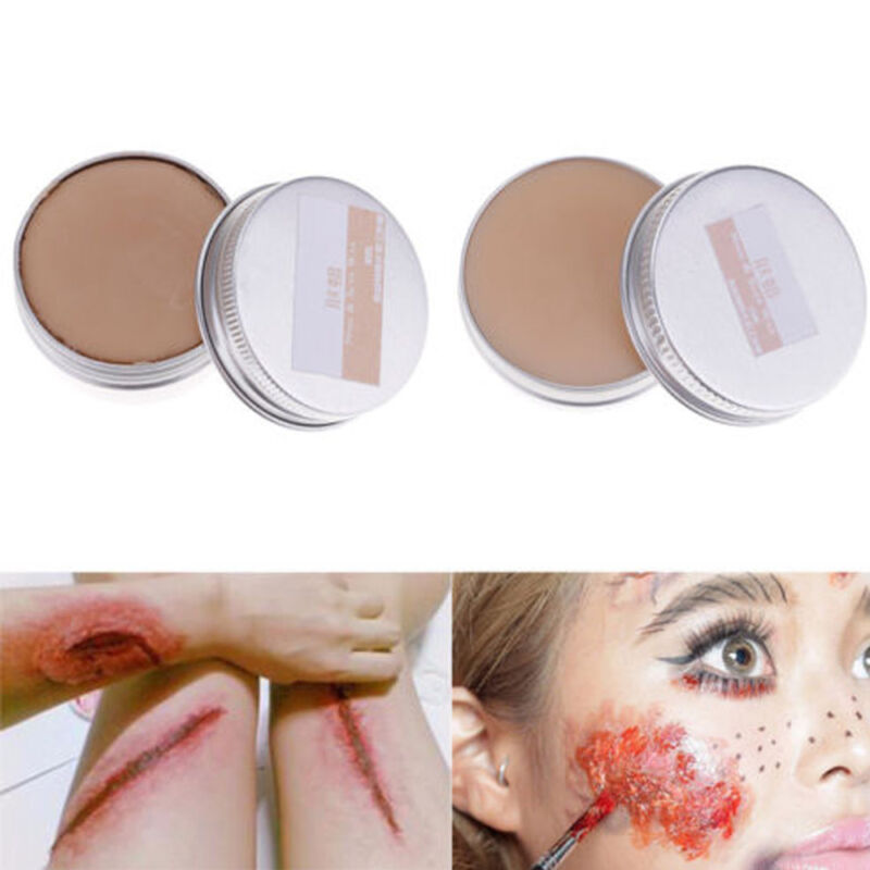 how to use fake scar makeup