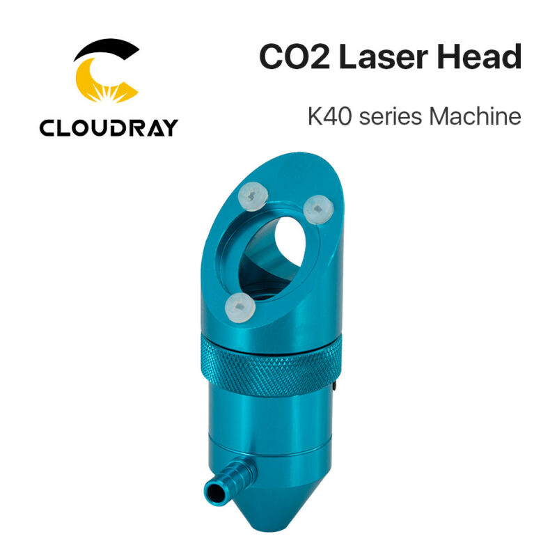 Cloudray CO2 Laser Head for K40 Series FL50.8mm Laser Engraver Cutter Machine