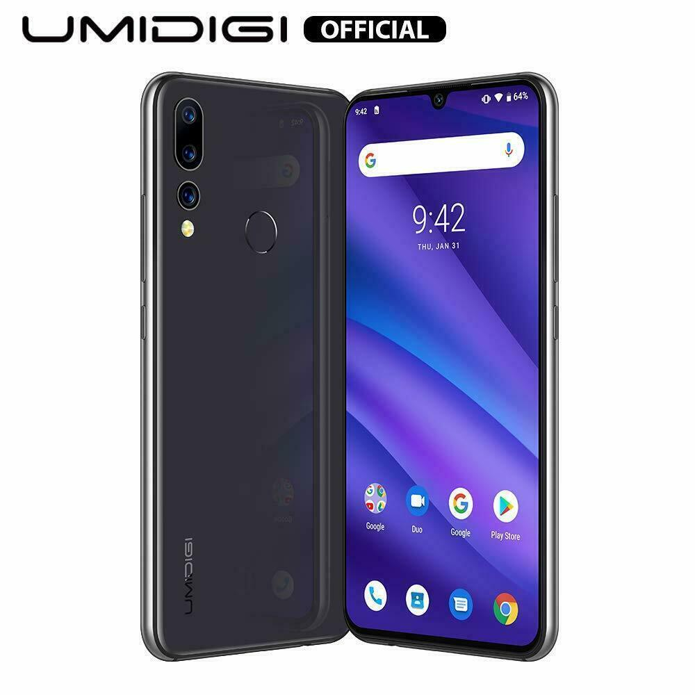 Android Phone - UMIDIGI A5 PRO Unlocked Octa Core 6.3'' 4GB+32GB Smartphone Mobile Phone Android