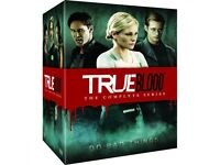 True blood complete serious 1-7 new in cellophane, vampire fairy werewolf sookie stackhouse lovers
