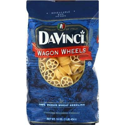 Pasta Wheel - Davinci-Wagon Wheel Pasta (12-16 oz bags)