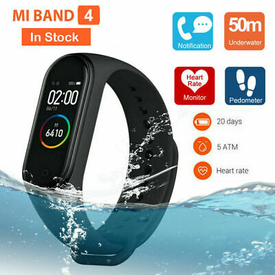 Xiaomi Mi Band 4 Smart Watch Wristband Heart Rate Fitness Tracker Global Version