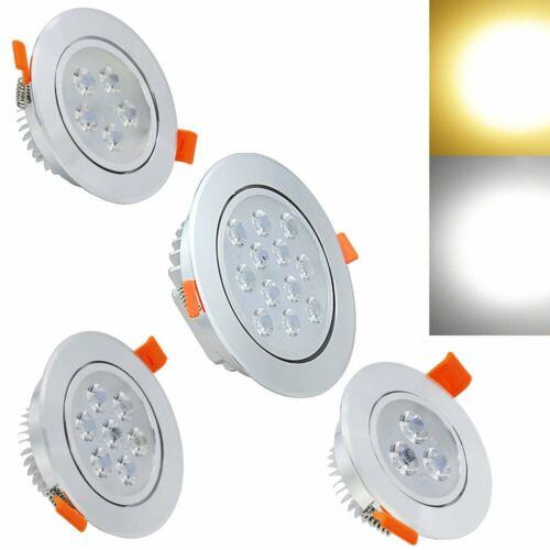 3/5/7/12W LED Einbauleuchte Einbaustrahler Einbauspot Decken Leuchte Badezimmer