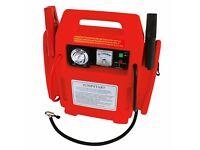 Carpoint 0177707 Jumpstarter with Air Compressor 12 V