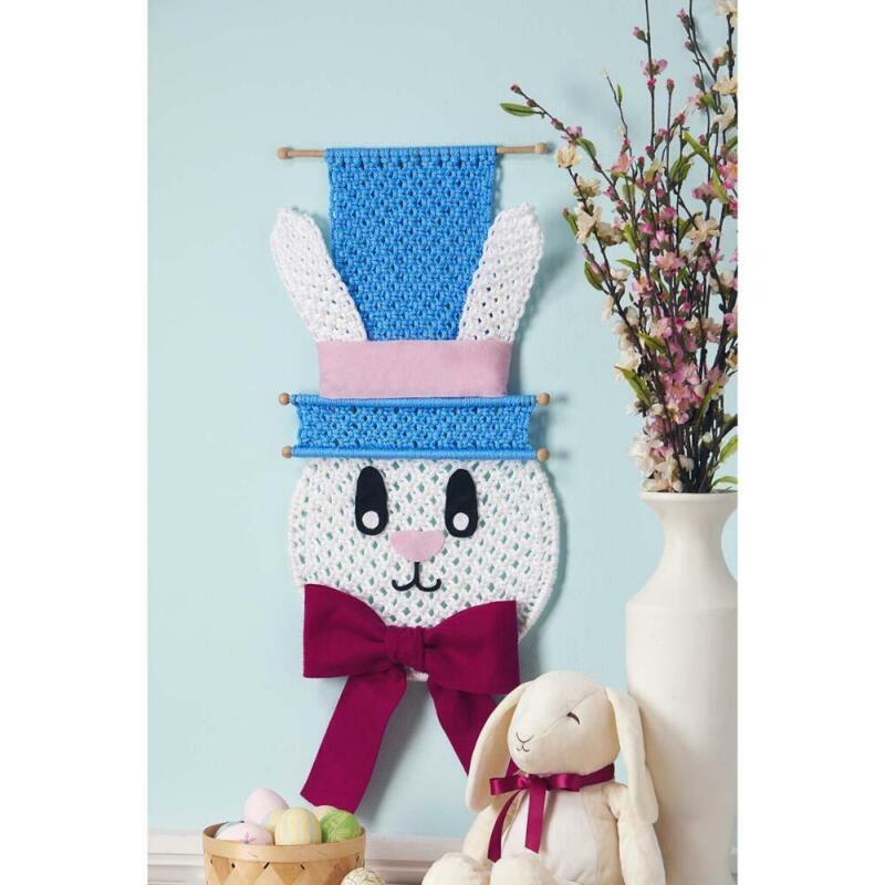 Herrschners® Hoppy Bunny Wall Hanging Macrame