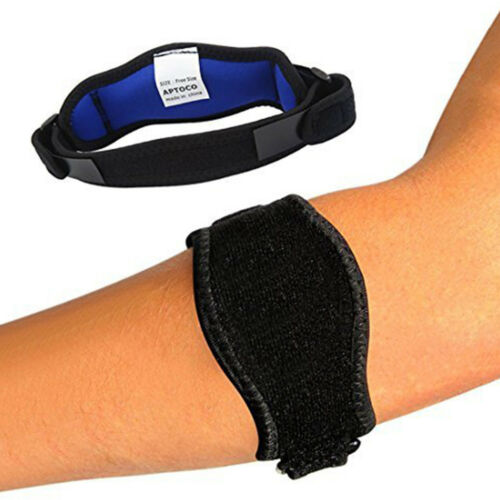 Tennis Elbow Brace Strap Tendonitis Golfers Tennis Relief S
