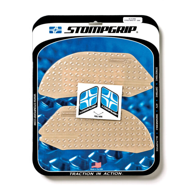 Stompgrip Ducati 899 Panigale Tank Pads Traction Clear Stomp Grip