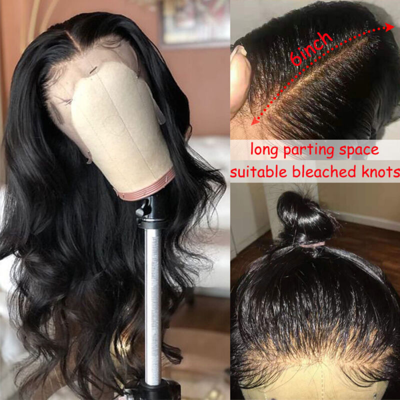 Silky Straight 13x6 Lace Front Wigs Brazilian Human Hair Wig With Baby Hair Zgga - $83.41