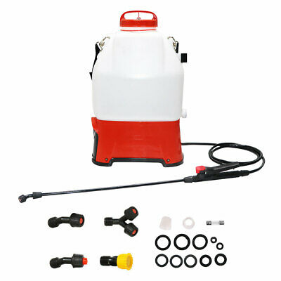 4.2Gallon Battery-Powered Backpack Sprayer for Garden Yard Pesticide Fertilizer Gallon Power Sprayer