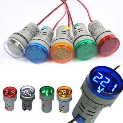 Ac 60-500v 0-100a Voltagecurrent Meter Led Display Tester Voltmeterammeter