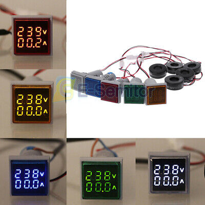 Digital Led Display Ac50-500v 0-100a Voltmeter Ammeter Voltage Current Meter