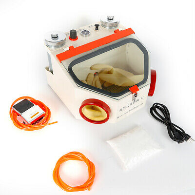 Dental Double Pen Sandblaster Lab Equipment Two-pen Sand Blaster Polishinglamp