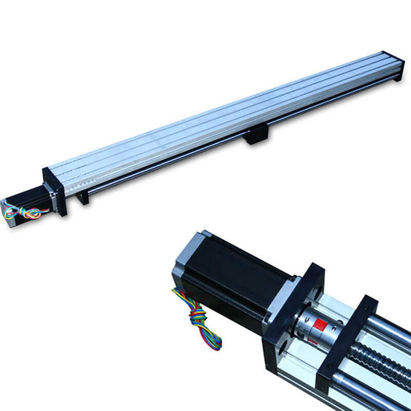 CNC Linear Motion Rail Guide Slide Stage Actuator Ball Screw Table Motor 1000mm