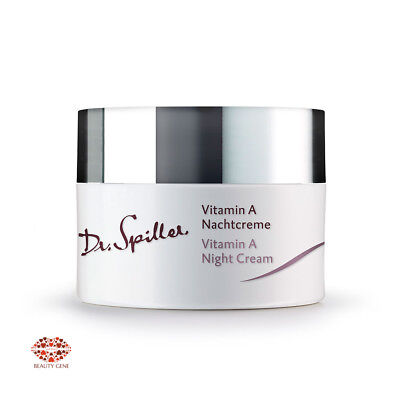 Dr Spiller VITAMIN A CREAM NIGHT best moisturizer  for dehydrated skin,