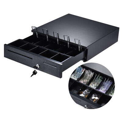 405 Cash Register Drawer Box 5 Bill 5 Coin Tray Compatible Works Pos T7h7