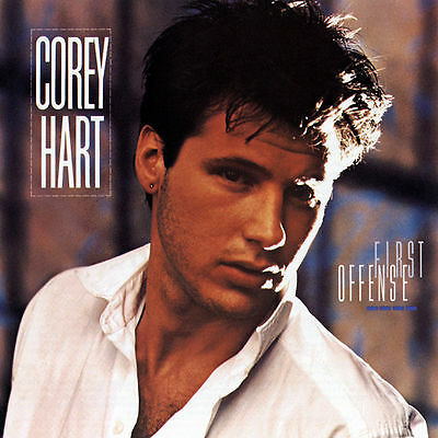 COREY HART First Offense 1984 CD with hits Sunglasses At Night It Ain't Enough