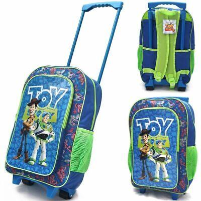 Kindertrolley Kinderkoffer Kinderrucksack Toy Story 4 Woody Buzz Reisegepäck NEU ()
