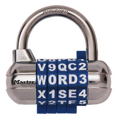 Master Lock 1534D Password Plus Combo Lock