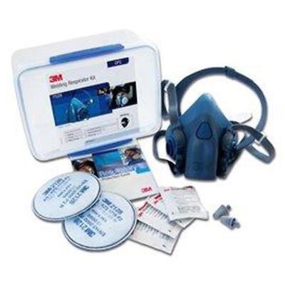3m Welding Soldering Drilling Machining Safety Respirator Starter Kit 7528 Gp2