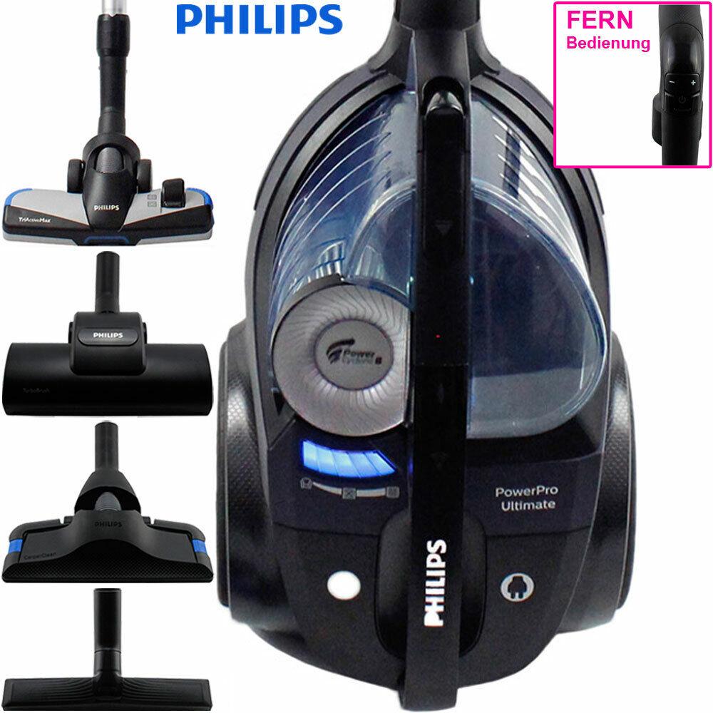 Philips FC 9929 PowerPro Ultimate Boden Staubsauger ohne Beutel HEPA beutellos