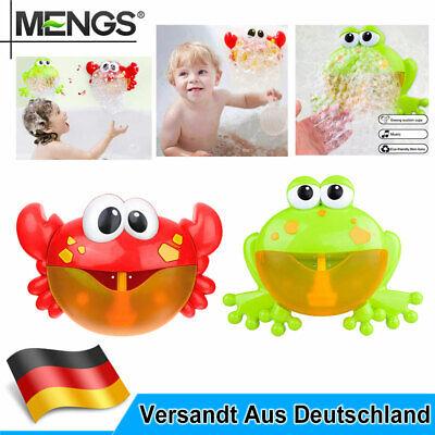 Seifenblasenmaschine Baby Kinder Spielzeug Badewann Spiel Seifenblasenkanone