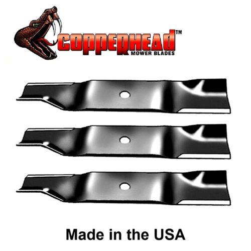 3pk Mower Blades Fit Cub Cadet 02005017 1005336 942-04417 Z-Force S 48 MTD Pro Z