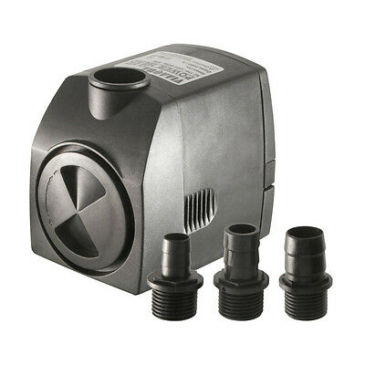 528 GPH ViaAqua 306 Adjustable Submersible Water Pump Hydroponic Fountain Pump