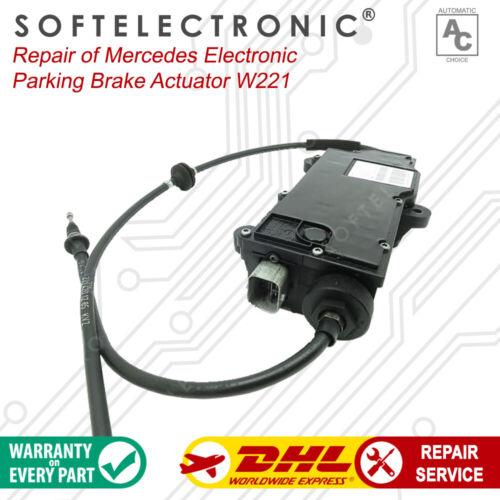 Mercedes Electronic Parking Brake Actuator W221 A2214302949 Repair Service