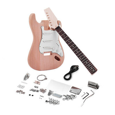 DIY ELECTRIC GUITAR KIT 1 VOLUME AND 2 TONE CONTROLS 3 SINGL