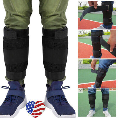2PCS Loading Weighted Ankle Leg Adjustable Weighted Ankle Band Exercise Training