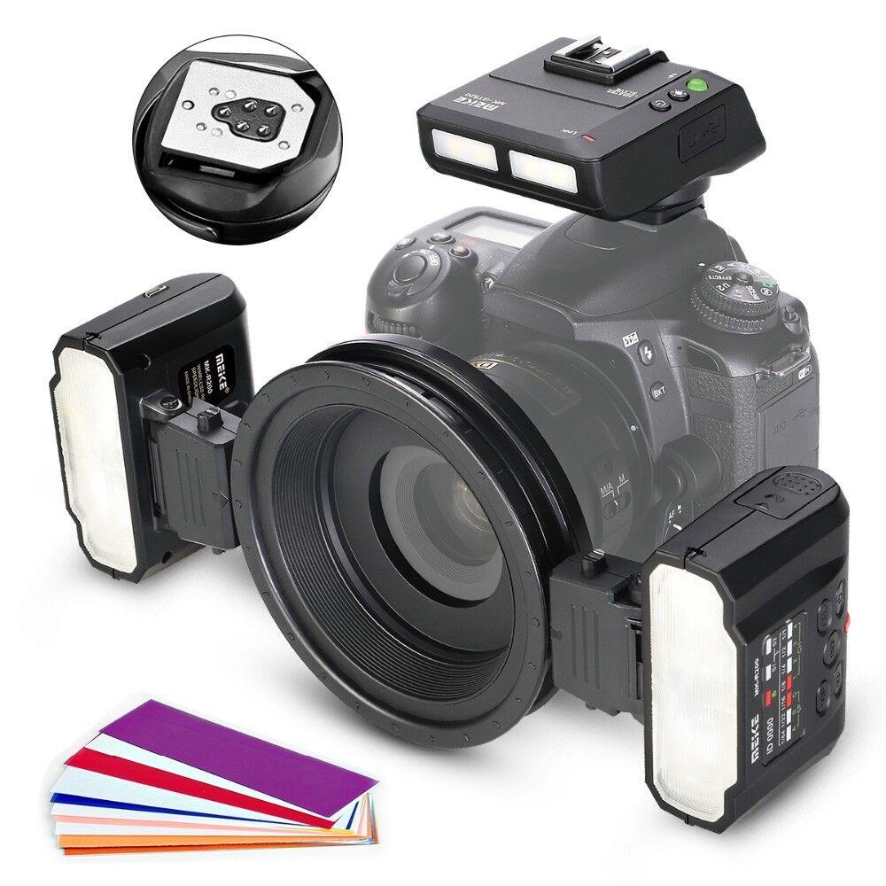 Meike MK-MT24 Macro Speedlight Flash for Canon DSLR Camera 1100D 1200D 70D 60D 7