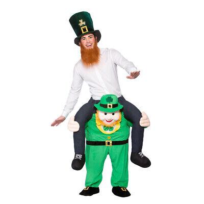 Trage Mich Kobold Erwachsene Kostüm st Patricks-Tag Irisch Herren Kostüm - Herren Kostüm Tragen