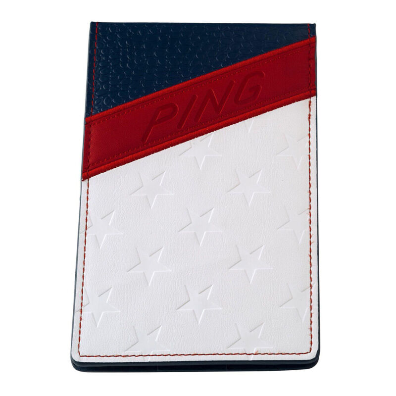 NEW PING Golf Stars & Stripes Yardage Book - Limited Edition