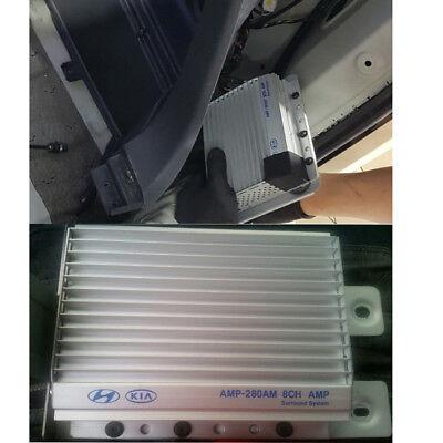 Genuine 2008-2011 KIA EXTERNAL STEREO AUDIO AMPLIFIER AMP - External Stereo Amplifier