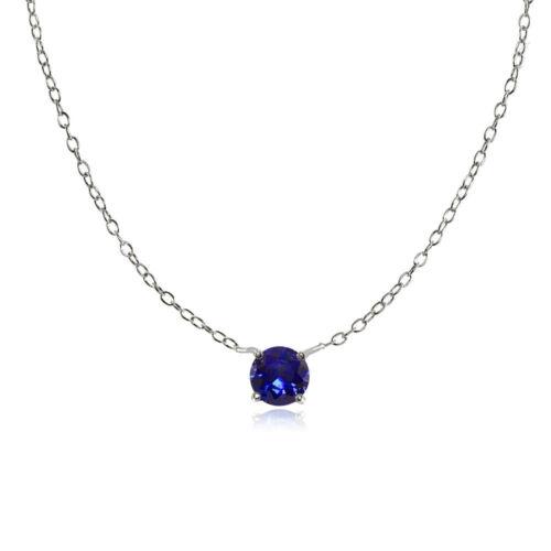 September-Created Blue Sapphire