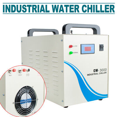 Industrial Water Chiller For Cnc Laser Engraver Engraving Machine Wfolw Alarm