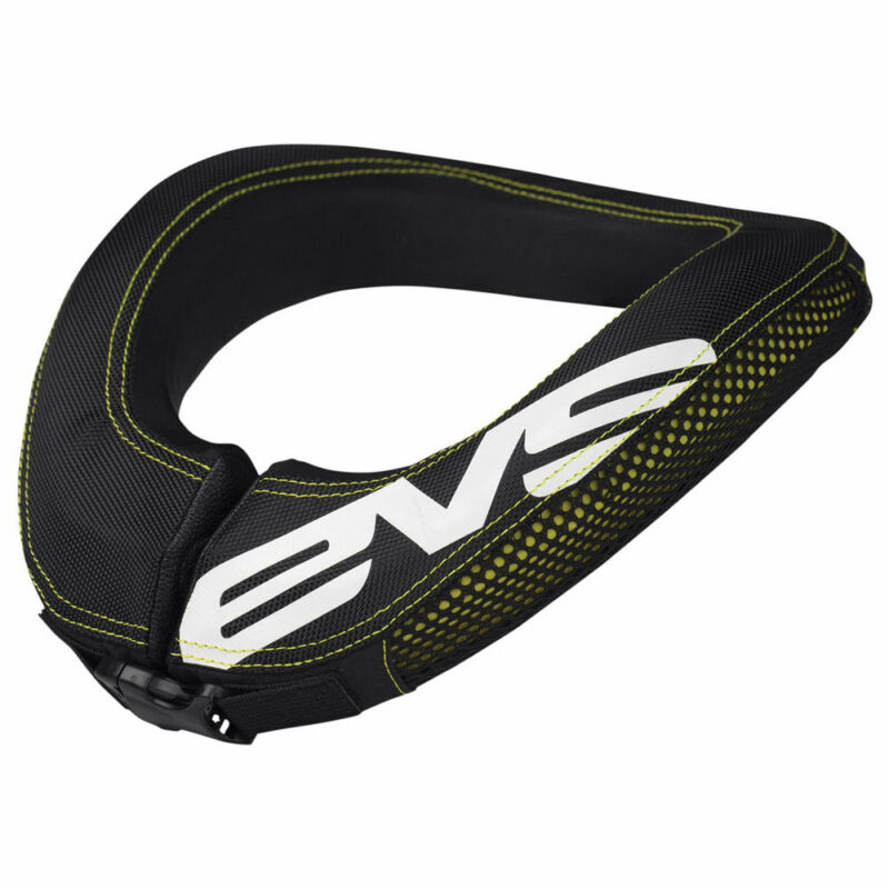 EVS+Adult+R2+MX+Armour+Race+Neck+Collar+-+Black%2FYellow