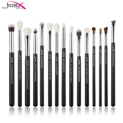 Jessup Eye Makeup Brush Set 15Pcs Blending Concealer Professional Brushes Kit