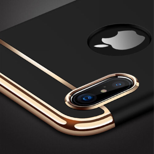For iPhone XS Max XR Luxury Shockproof Hybrid Electroplate S