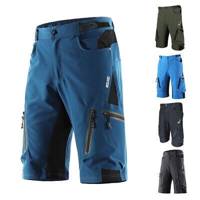Men Baggy Cycling Shorts Bicycle Bike MTB Short Pants Loose