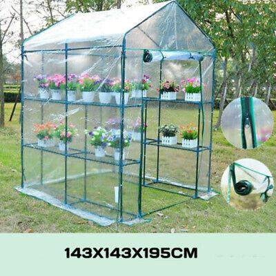 Plástico PVC Pe Invernadero Caja de Cultivo Cubiertas Planta Jardín Almacenaje
