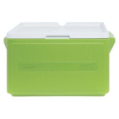 "Coleman 33 qt Green Plastic Can Party Stacker? Cooler - 22""L"