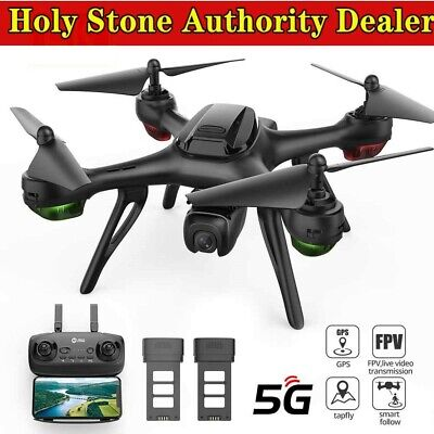 Holy Stone HS130D GPS Drone with Camera 5G 2K RC Quadcopter  Follow Me 2 Battery