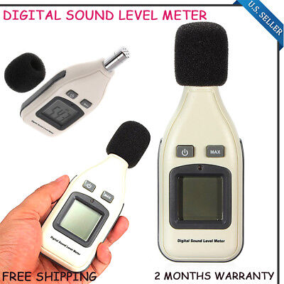 Gm1351 Digital 30-130db Sound Level Meter Decibel Noise Monitor Pressure Test