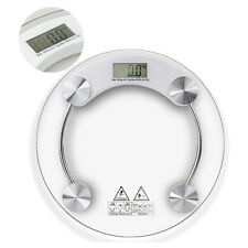 396lb 180KG Bathroom Digital Electronic Glass Weighing Body Weight Scale 100g
