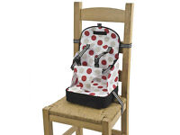 Travel Baby Booster Seat for feeding anywhere