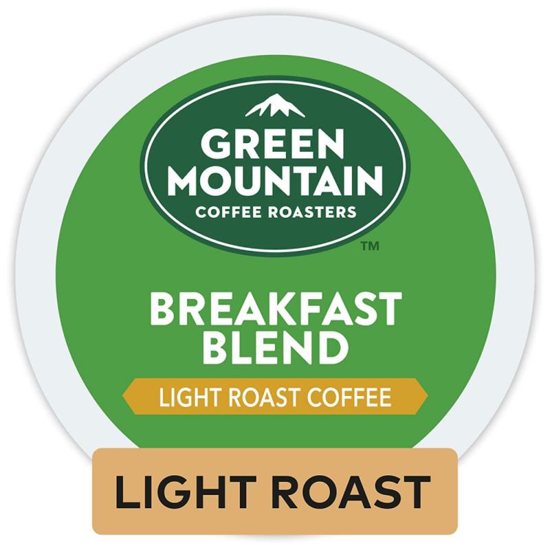 Green Mountain Coffee Roasters Breakfast Blend, Single Serve