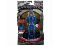 "Power Rangers Movie 7"" Action Figure Morphin Power Blue Ranger Lights Up NEW"